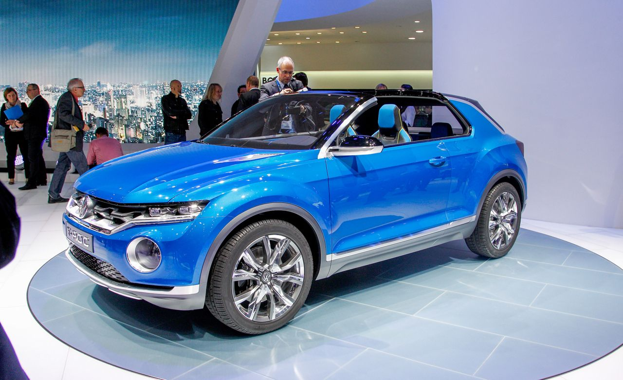 volkswagen t roc concept news car and driver. Black Bedroom Furniture Sets. Home Design Ideas