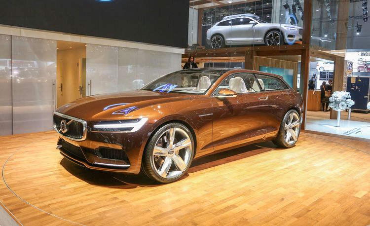 Volvo Concept Estate: A Sexy Brown Shooting Brake—Need We Say More?