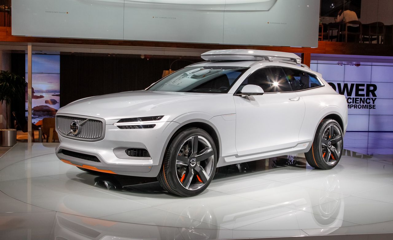 Volvo Concept Xc Coupe Photos And Info News Car And Driver