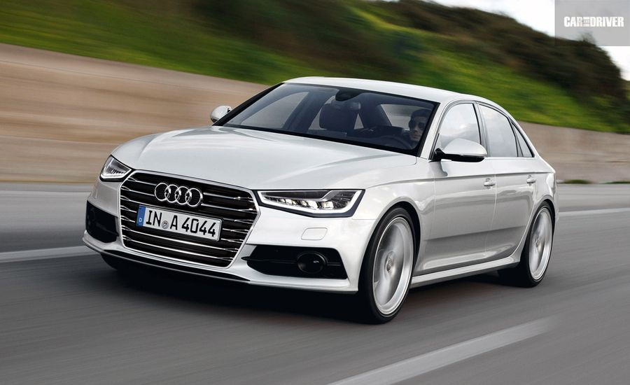 2015 audi a4 feature car and driver. Black Bedroom Furniture Sets. Home Design Ideas