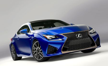 2015 Lexus RC F: Ultra-Quick Alphabet Soup