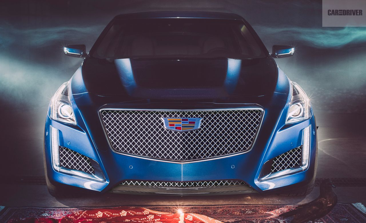 2016 cadillac cts v feature car and driver. Black Bedroom Furniture Sets. Home Design Ideas