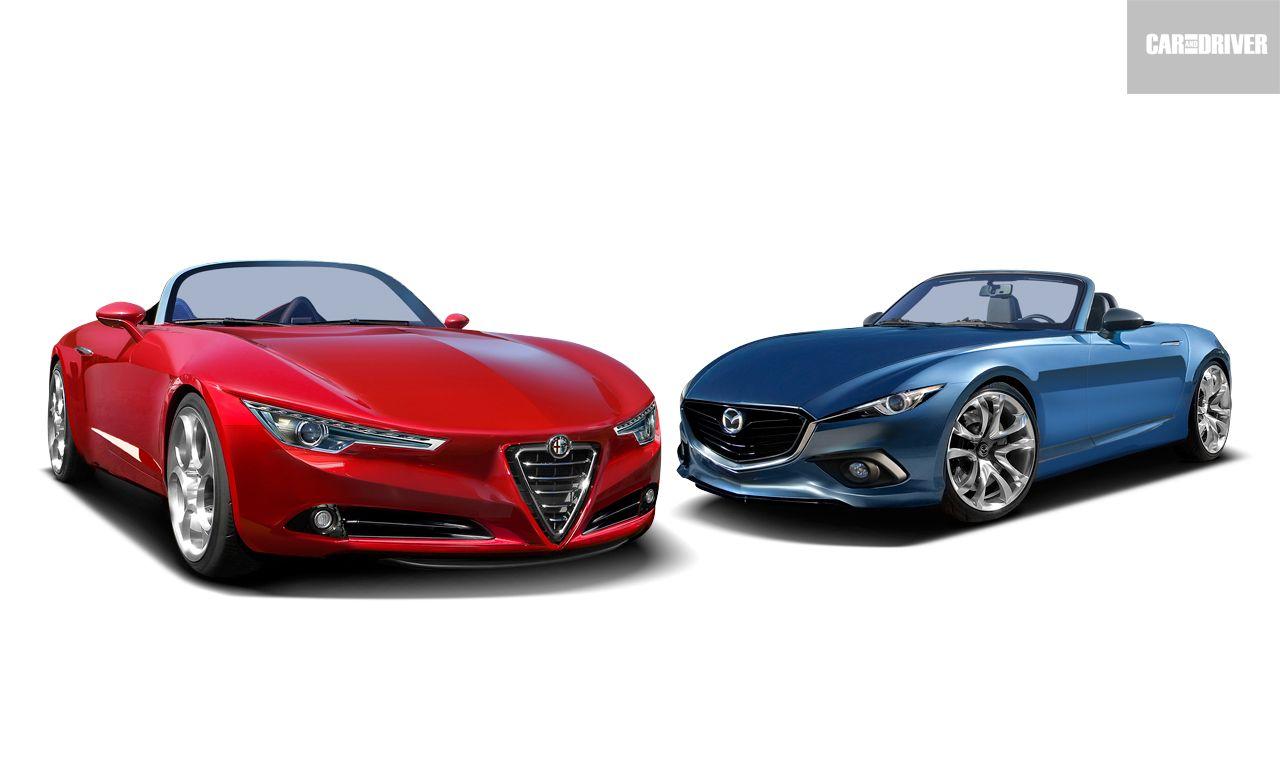 2016 Fiat/Abarth Spider and Mazda MX-5 Miata: Fusion Cuisine