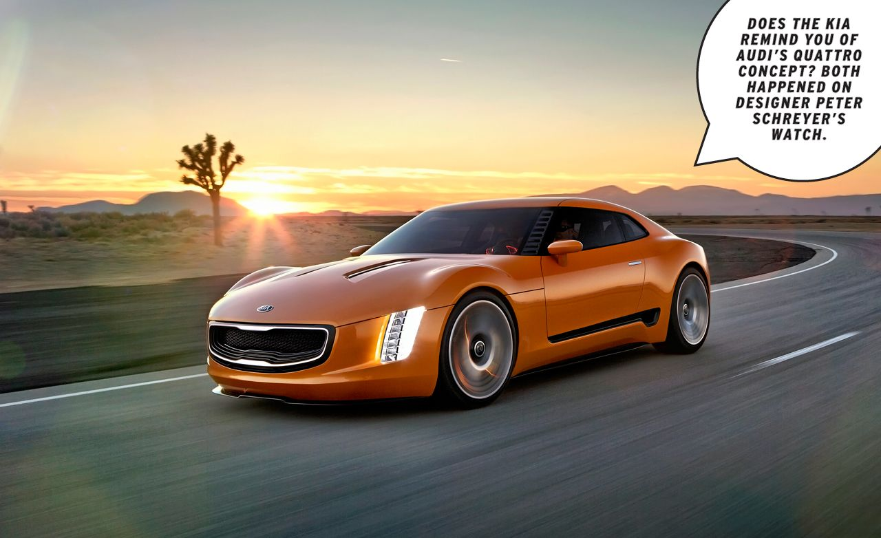 Kia Gt4 Stinger Concept Dissected The Goods On S Brz Fr Fighter 8211 Feature Car And Driver