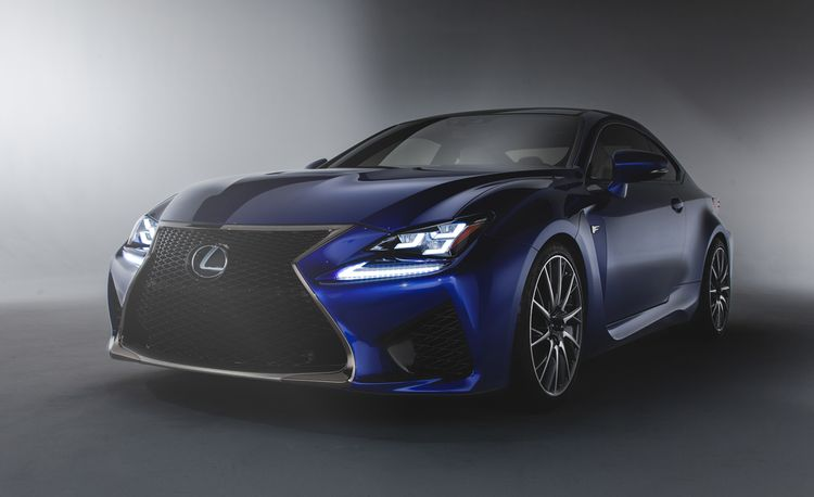 Up Close with the 460-hp 2015 Lexus RC F Coupe