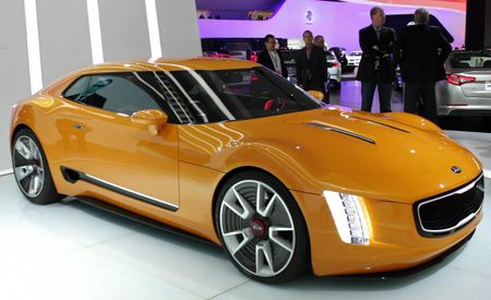Up Close: Kia's Rear-Drive GT4 Stinger Sports-Car Concept
