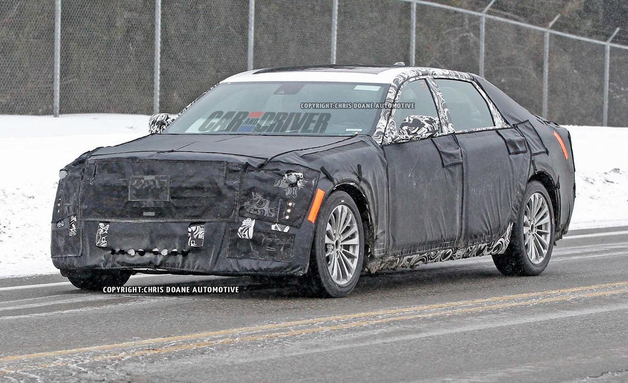 2016 Cadillac CT6 Spy Photos