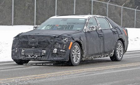 2016 Cadillac CT6 Spy Photos