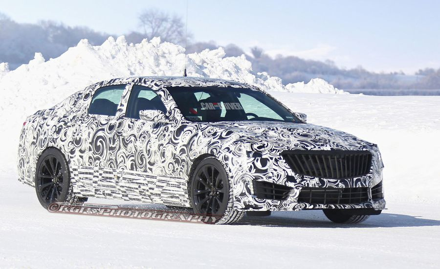 2016 Cadillac CTS-V Sedan Spy Photos