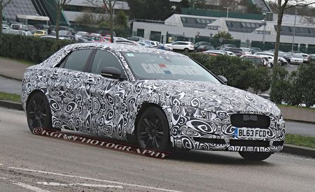 2016 Jaguar XE Sedan Spied In Production Body, Will Fight 3-series, A4, C-class