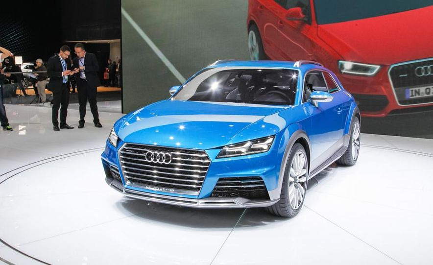 Audi Allroad Shooting Brake concept - Slide 1