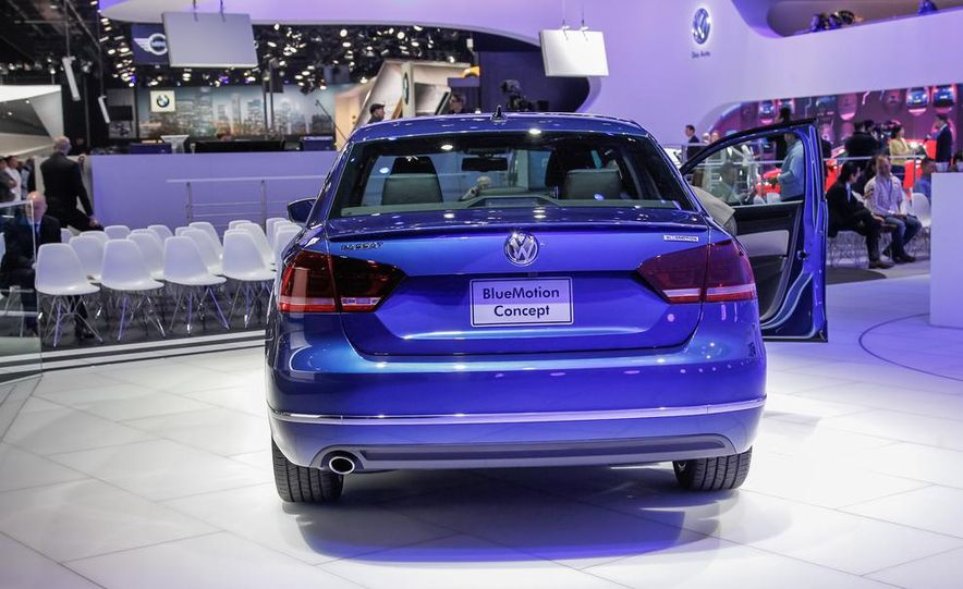 Volkswagen Passat BlueMotion concept - Slide 4