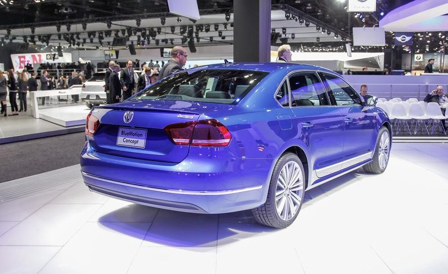 Volkswagen Passat BlueMotion concept - Slide 8