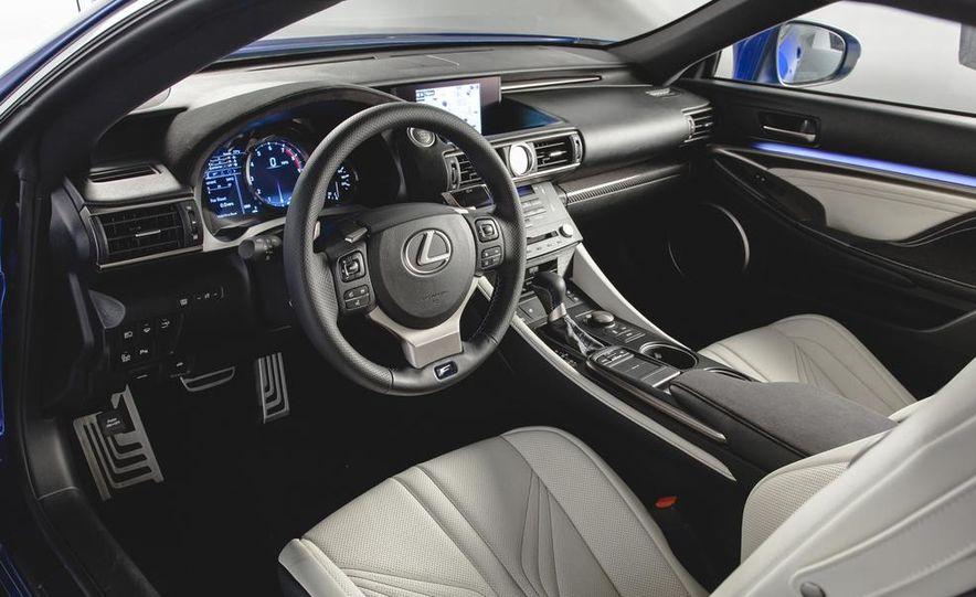 2015 Lexus RC F - Slide 21