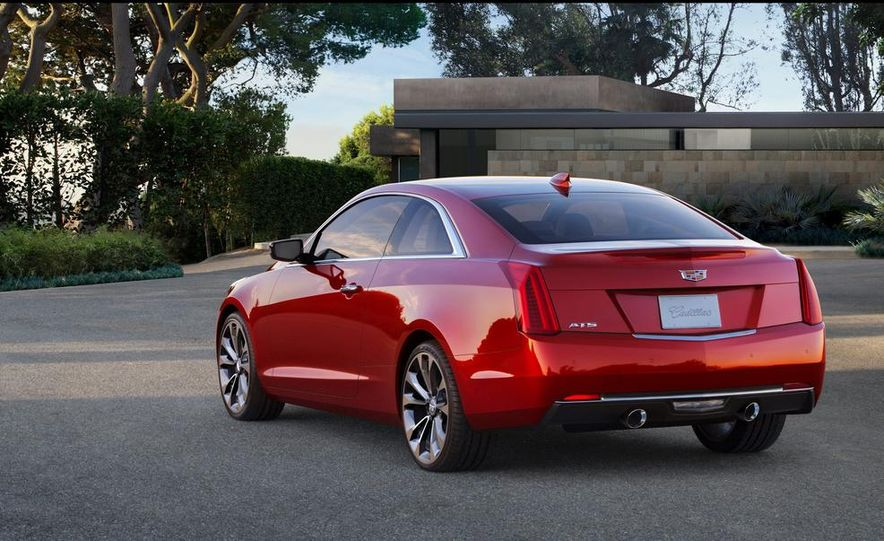 2015 Cadillac ATS coupe - Slide 19