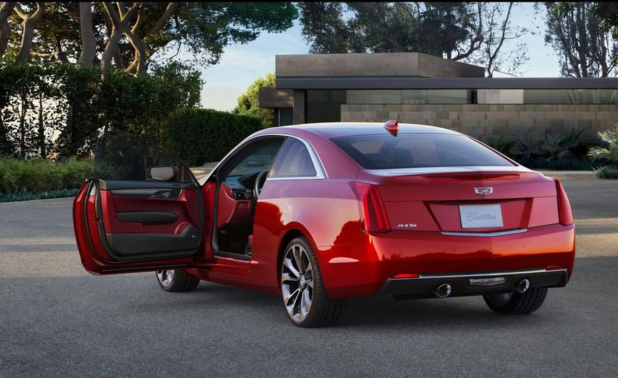 2015 Cadillac ATS coupe - Slide 20