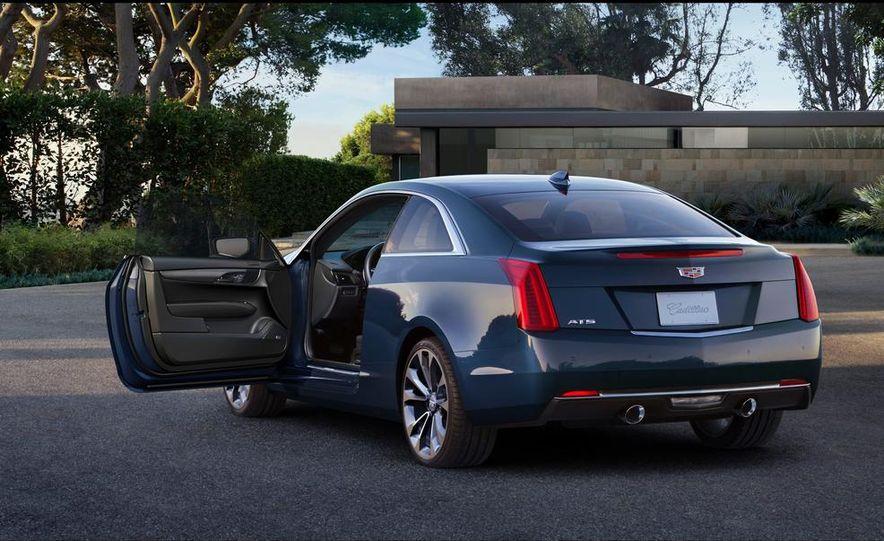 2015 Cadillac ATS coupe - Slide 27