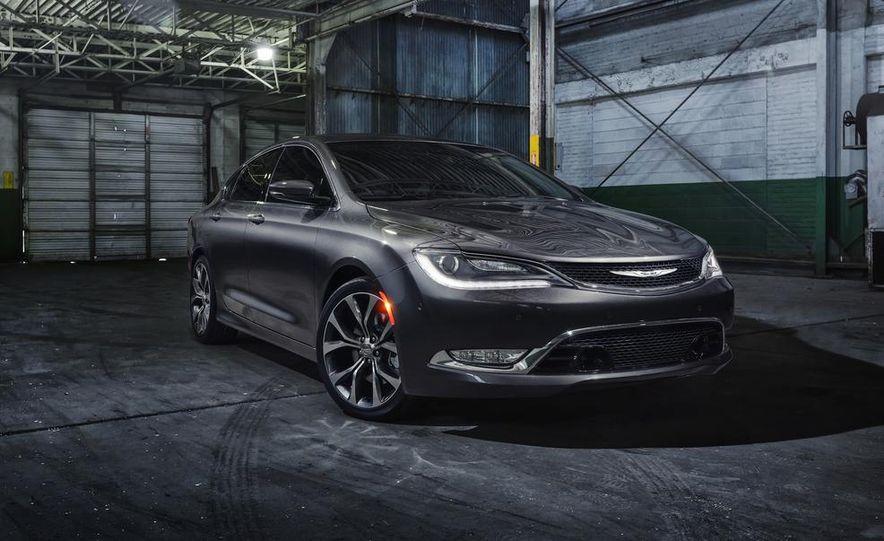 2015 Chrysler 200C - Slide 10