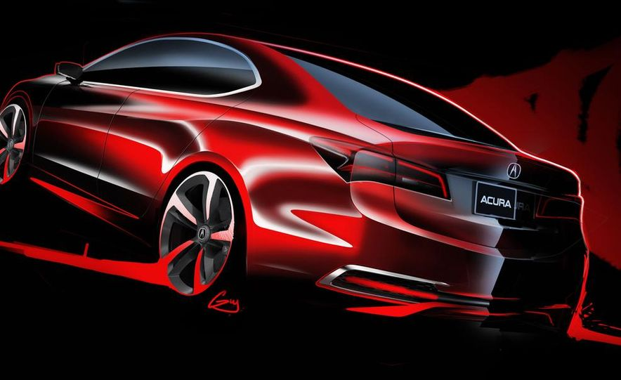 Acura TLX concept - Slide 28