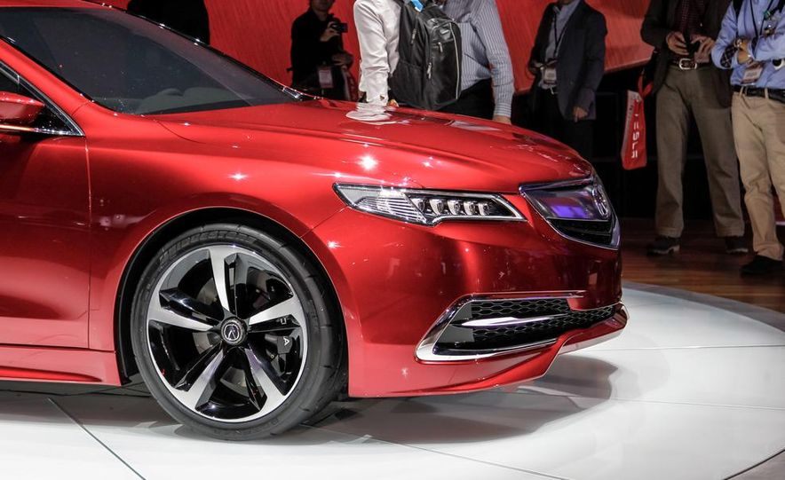 Acura TLX concept - Slide 10
