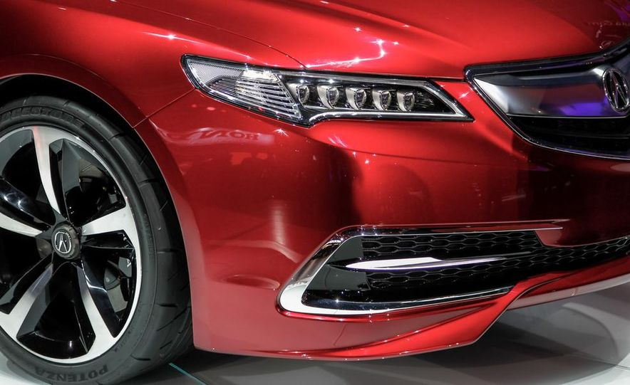 Acura TLX concept - Slide 12