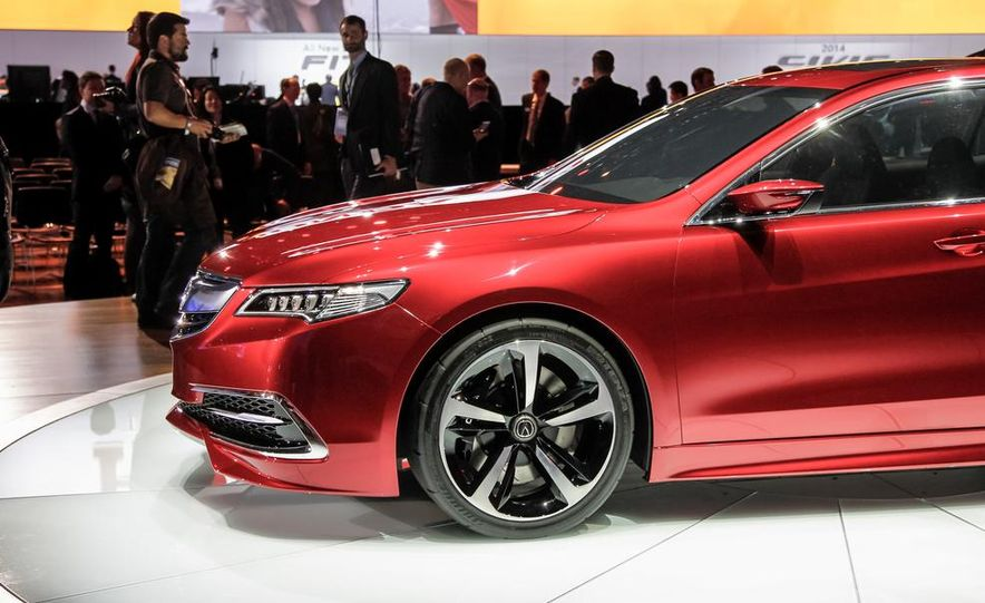 Acura TLX concept - Slide 13