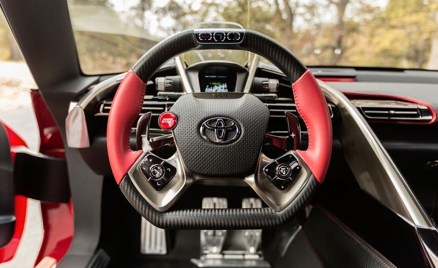 Toyota FT-1 concept - Slide 38