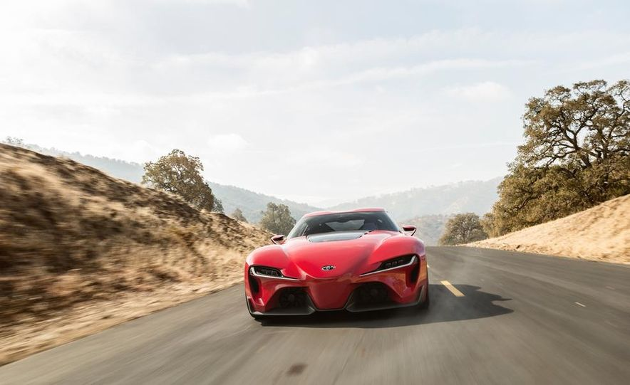 Toyota FT-1 concept - Slide 14
