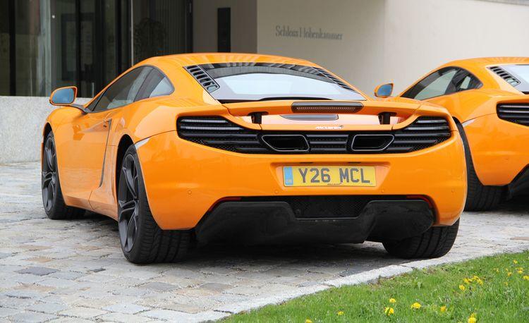 2014 McLaren 12C Coupe