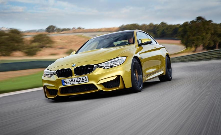 2015 BMW M4 coupe - Slide 12