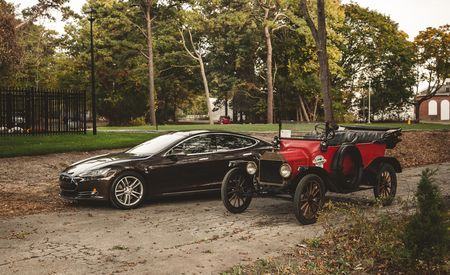 The Race of the Centuries: 2013 Tesla Model S vs. 1915 Ford Model T