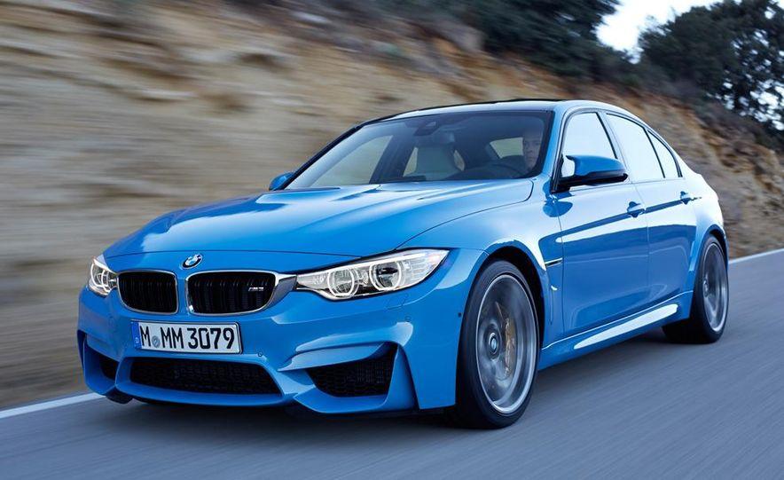 2015 BMW M3 sedan - Slide 20
