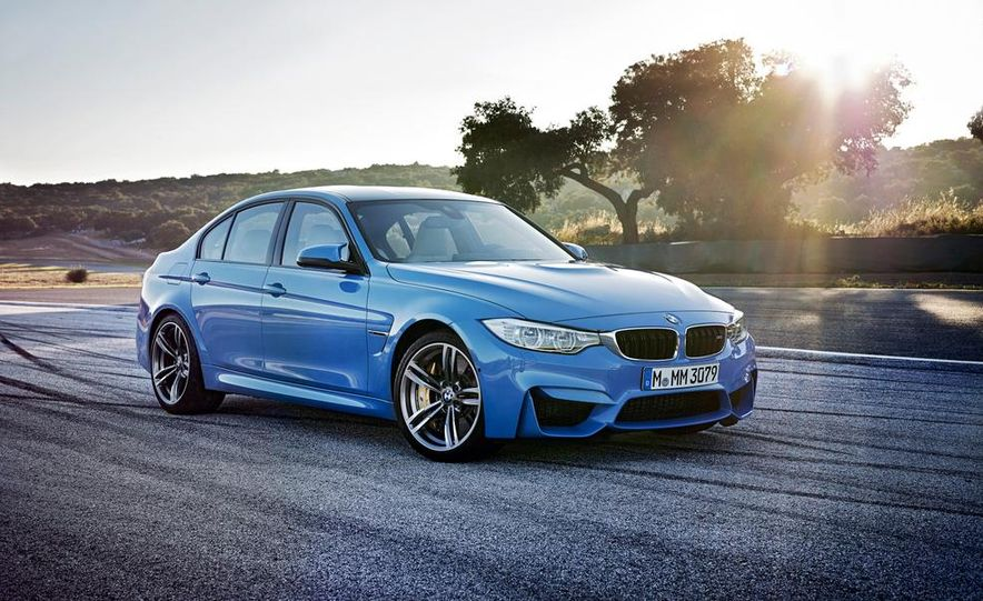 2015 BMW M3 sedan - Slide 23
