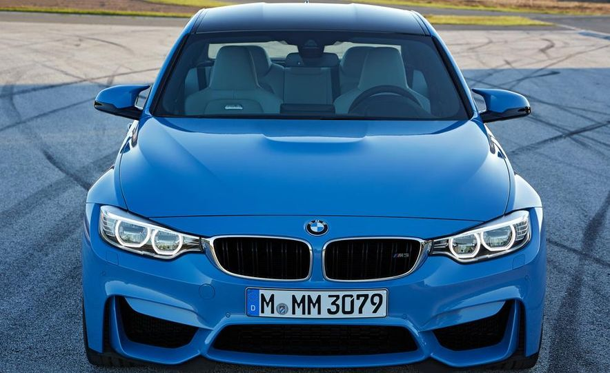2015 BMW M3 sedan - Slide 26