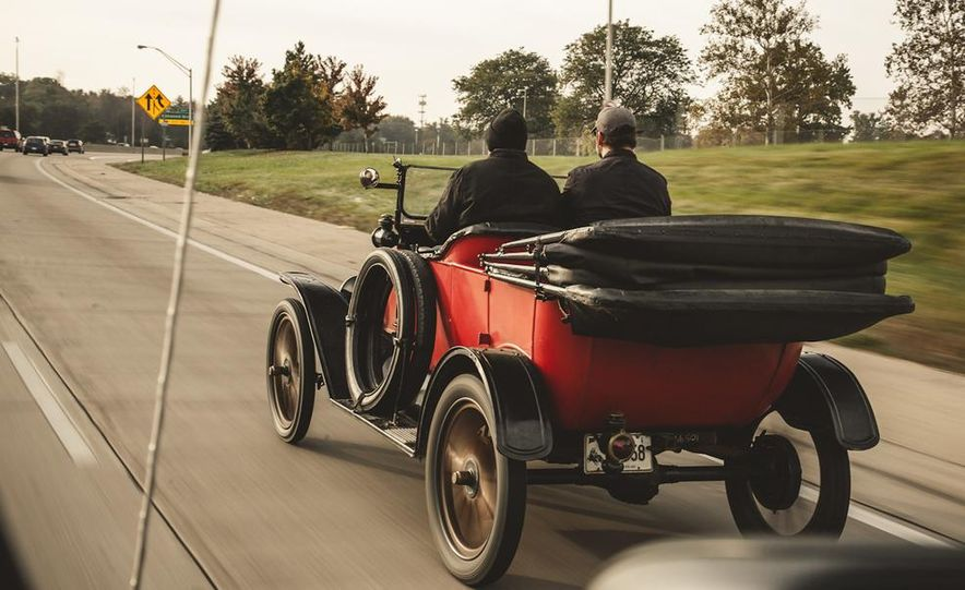 2013 Tesla Model S P85 and 1915 Ford Model T - Slide 48