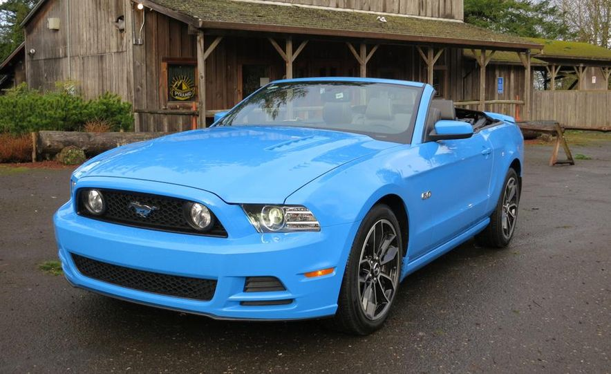 2015 Ford Mustang and GT convertible - Slide 68