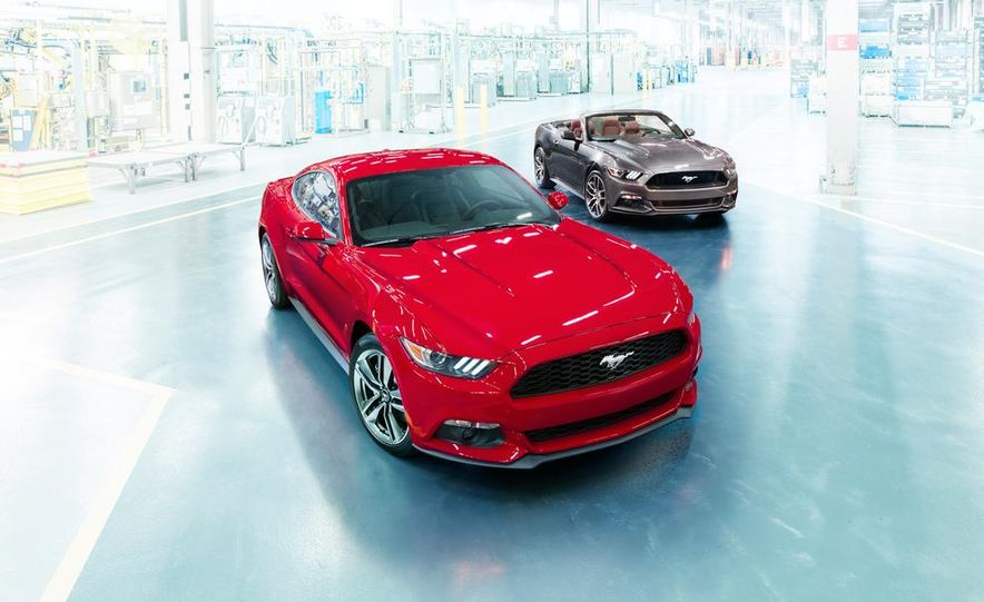 2015 Ford Mustang and GT convertible - Slide 1
