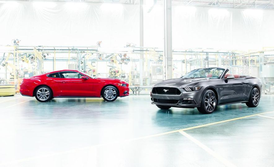 2015 Ford Mustang and GT convertible - Slide 2
