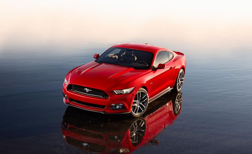 2015 Ford Mustang and GT convertible - Slide 41