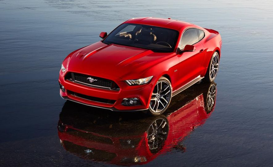 2015 Ford Mustang and GT convertible - Slide 43