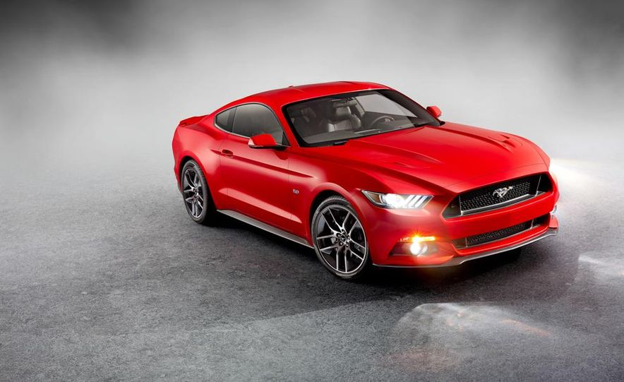 2015 Ford Mustang and GT convertible - Slide 47