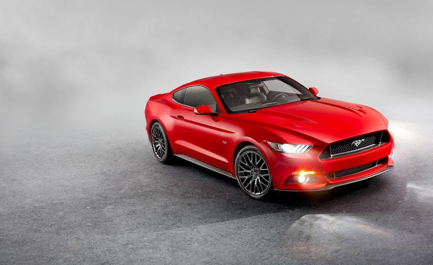 2015 Ford Mustang and GT convertible - Slide 48