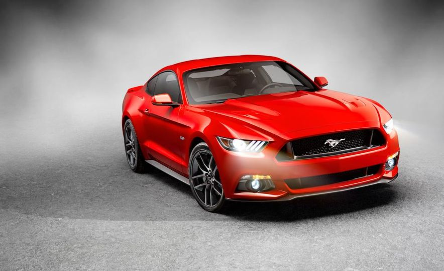 2015 Ford Mustang and GT convertible - Slide 49