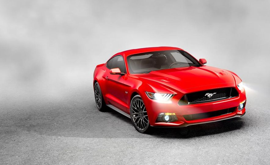 2015 Ford Mustang and GT convertible - Slide 52