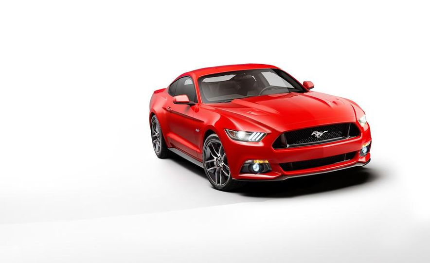 2015 Ford Mustang and GT convertible - Slide 56