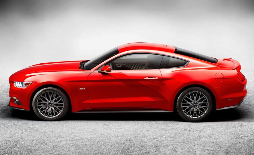 2015 Ford Mustang and GT convertible - Slide 57