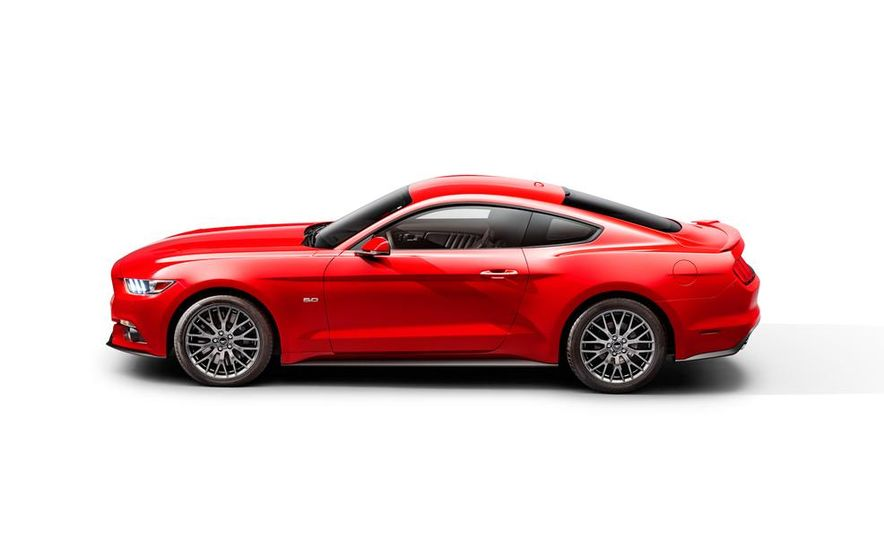 2015 Ford Mustang and GT convertible - Slide 59