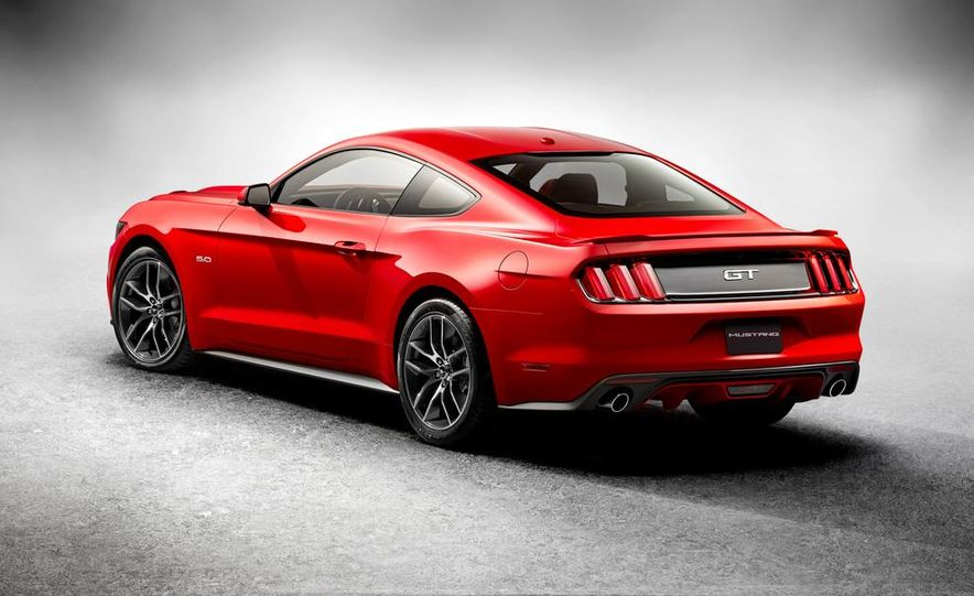 2015 Ford Mustang and GT convertible - Slide 62