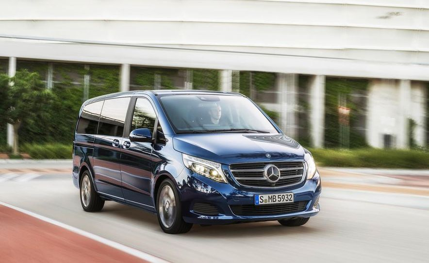 2015 Mercedes-Benz V 250 BlueTec - Slide 1