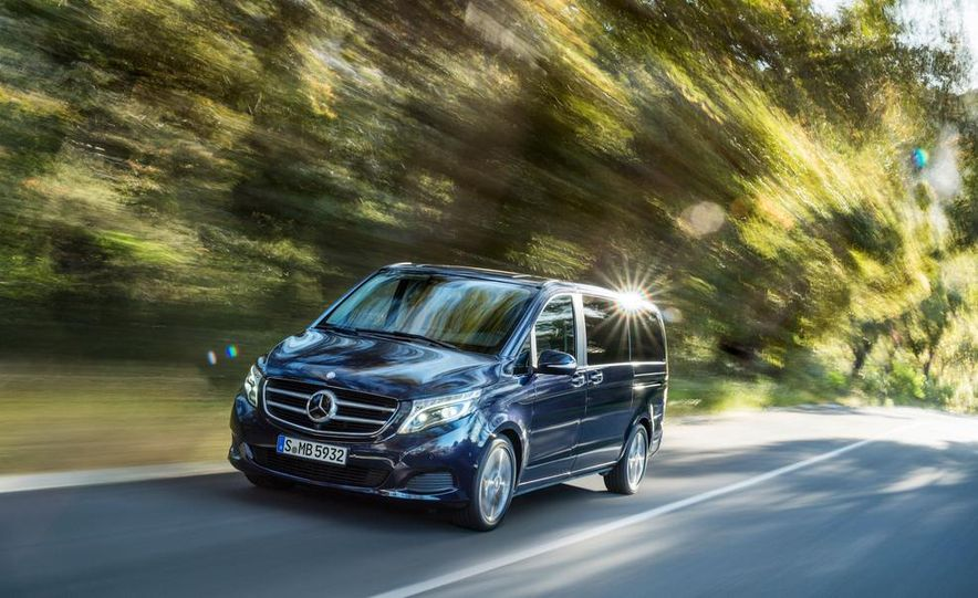 2015 Mercedes-Benz V 250 BlueTec - Slide 3